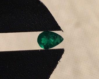 Boyacá Columbian Emerald Pear Shaped