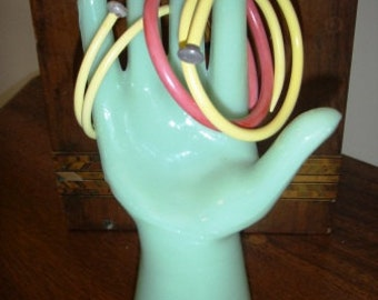 handmade bangles ... VINTAGE KNITTING needle BRACELET Bangle item 112 ...