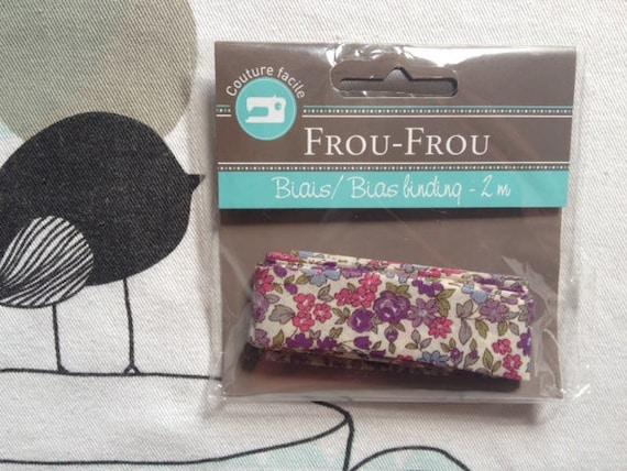 Glamorous bias FLEURI Bordeaux - Frou-Frou