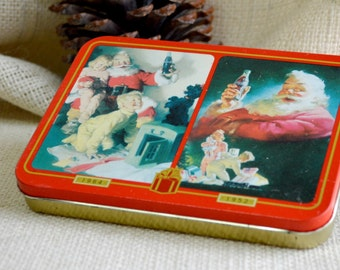 Coca-Cola playing cards // Coke playing Cards // Collectible Coca Cola Nostalgia Playing Cards