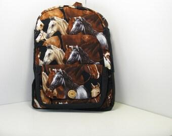 Horses Horses Horses Preschool Backpack