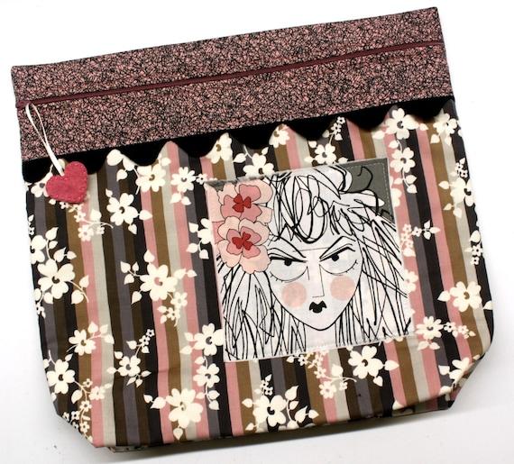 MORE2LUV Ghastlies Girl Project Bag