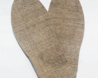 Shoe Inserts - 100% Alpaca - Men's