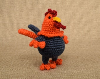 Crochet Rooster, Amigurumi Rooster, Stuffed Rooster, Year of the Rooster, Chinese New Year