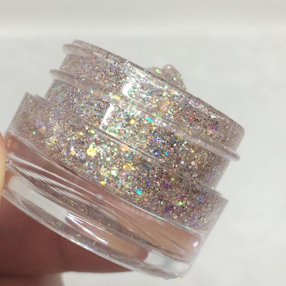 Sand Castle Jelly Glitter Gel by Etsy