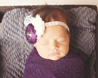 The Plum Perfect Headband or Hair Clip