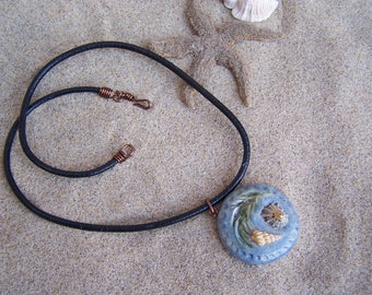 "Creative challenge of mars ""Tribute to the sea life"", the Choker necklace made of stoneware"