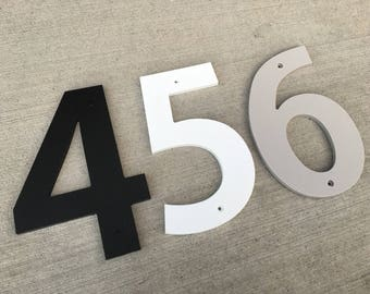 6 inch Bold House Numbers Letters