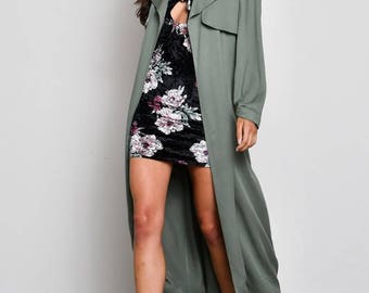Light Olive Duster