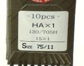100 Organ Home Sewing Macjine Needles~  10 packs of ten needles Pick Your Size Needle~ZipperStop Wholesale Authorized Distributor YKK®