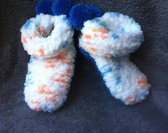 Baby shoes knit / knitted baby slippers