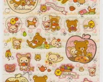 Rilakkuma Stickers - Reference A4944