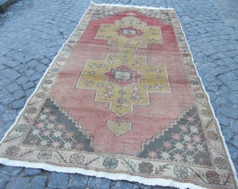 turkish rug , oushak rug, turkish rug, moroccan floor rug, oushak vintage rugs, 278