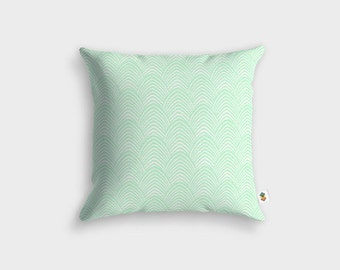 Retro vintage ALEN green cushion
