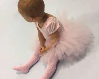 Baby pink tutu, first birthday tutu outfit, pink tutu, flower girl tutu, pink tutu skirt,  newborn tutu, baby tutu, tutu dress, toddler tutu