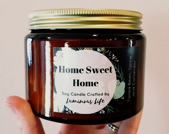 Home Sweet Home 16 Ounce Soy Candle