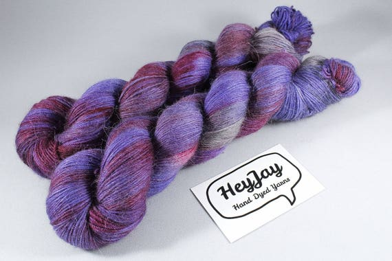 Hand Dyed Alpaca/Merino/Nylon Blend Sock Yarn - Captivate