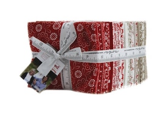 Moda Fat Quarter Fabric Bundle | Moda fabric | Project Red by Sweetwater
