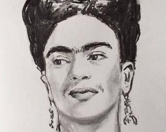 Portrait of Frida Kahlo #6