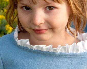 Children's Shirt Sewing Pattern: The Bateau Neck Top sizes 18m to 10 (PDF Digital Pattern)