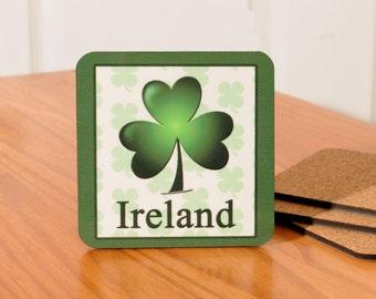 Ireland/Irish Coasters - set of 4