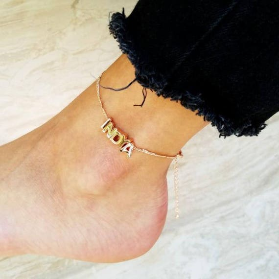anklet handmade ankle bracelet item custom il like set this listing