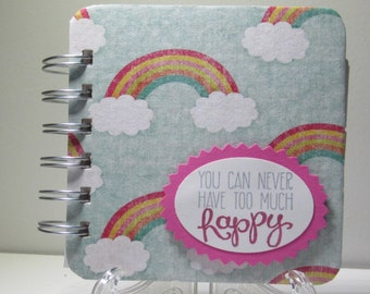 Happy Rainbow Password Book