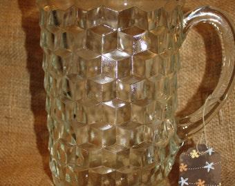 Fostoria Glass Pitcher