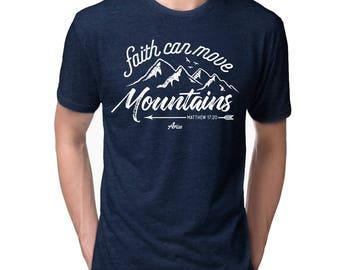 Faith Can Move Mountains - Church Gift KXqwPQxD