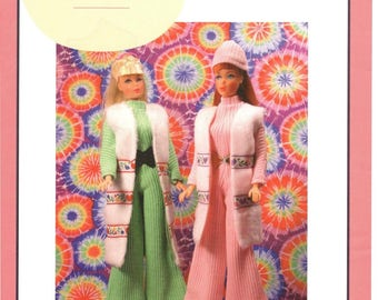 "PDF Instant download Pattern""Fashion Editor"" for vintage Barbie "" by Marirose! complete from book ""Vintage Clothing for the Fashion Doll"""