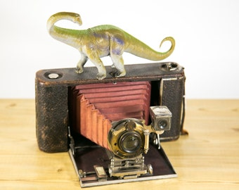 Kodak No. 3A Folding Camera Model 3 Antique Bellows Camera - #F9