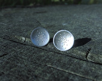 Point Point Point... Silver Earrings