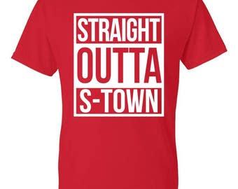Straight Outta S-Town shirt