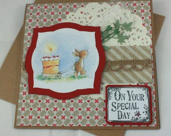 Handmade birthday card - On Your Special Day