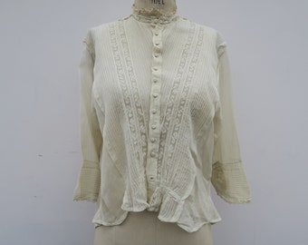 0841 - Victorian Blouse - Authentic Vintage - Blouse