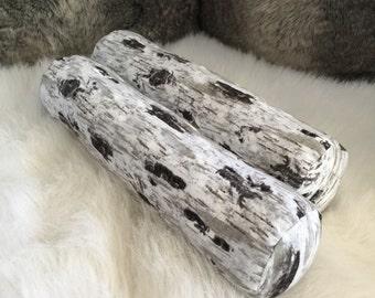 Log Bolster pillows (style #3)