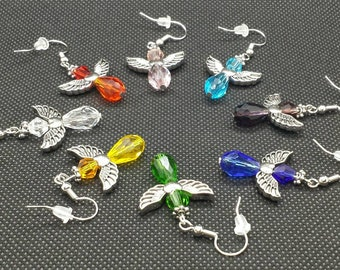Angel earrings. Choice of color.