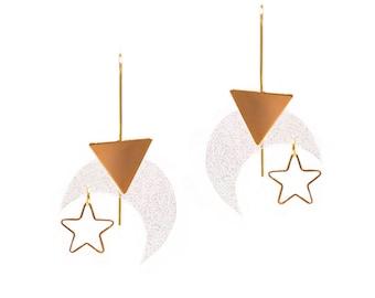 Starry night Earrings by LaliBlue