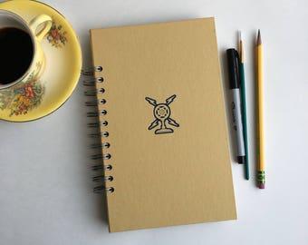 junk journal, smash book - vintage hardcover altered book journal