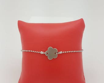 steel bracelet creation stainless pattern flower
