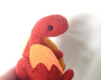 Chubby Orange Dragon Gift