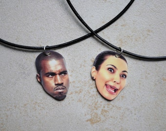 Kim and Kanye Choker Set