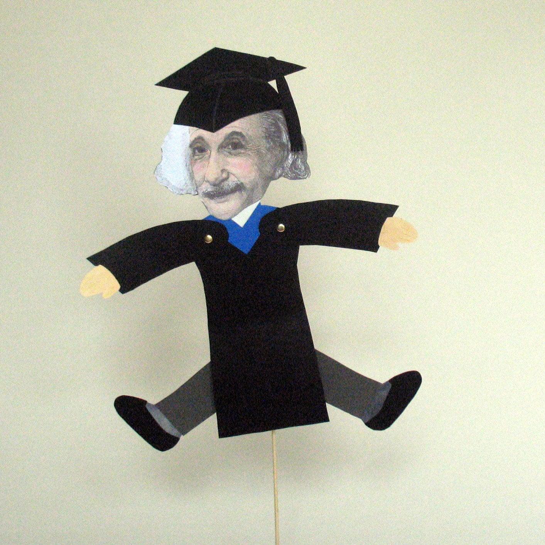 Large Handmade Albert Einstein 3d Graduation Card # Muebles Einstein