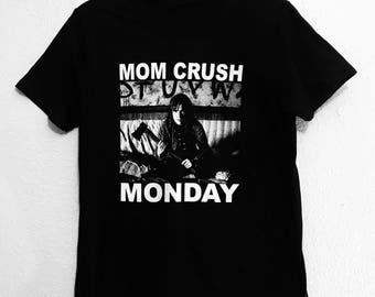 Mom Crush Monday Joyce Byers/Winona Ryder Stranger Things Mashup Black shirt. S-XXXL.