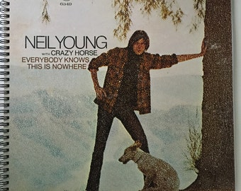 Neil Young Recycled Record Album Cover Book