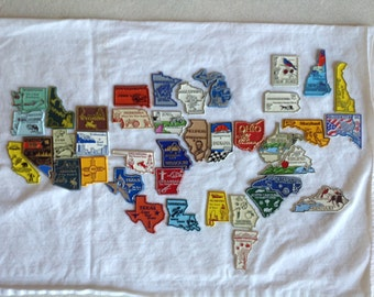 Individual State Magnet sold Individually