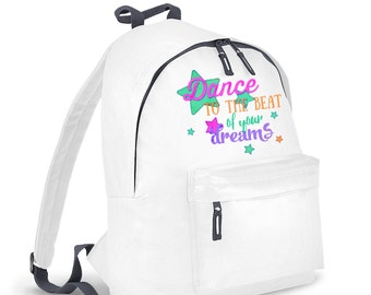 Dance To The Beat kids backpack