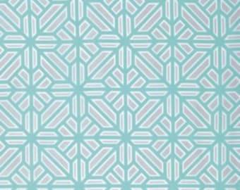 Arbor in Mint - Atrium - Joel Dewberry - 1 YARD Fabric