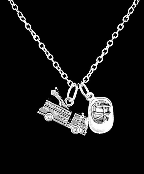 item il like firefighter necklace wife this girlfriend listing au
