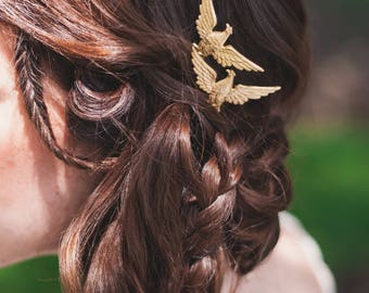 Americana Eagle Hair Pins - Boho Hair Accessories - Fourth of July
